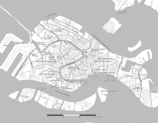 Walking map of Venice