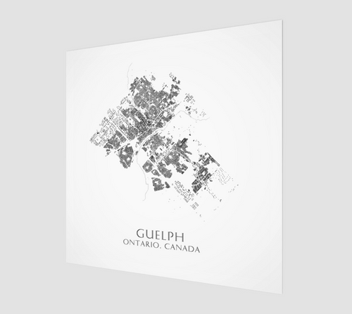 Poster Print of Guelph Buildings