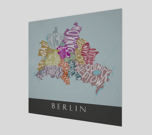 Art Map of Berlin