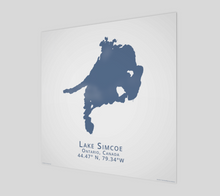 Load image into Gallery viewer, Art Map of Lake Simcoe