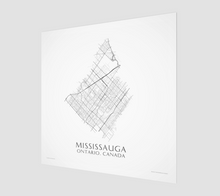 Load image into Gallery viewer, Art Map of Mississauga