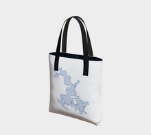 Load image into Gallery viewer, Tote Bag with Art Map of Lake Rosseau, Muskoka