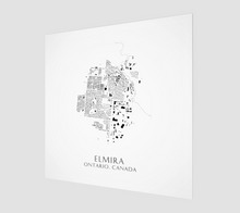 Load image into Gallery viewer, Art Map of Elmira
