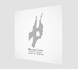 Art Map of Balsam Lake