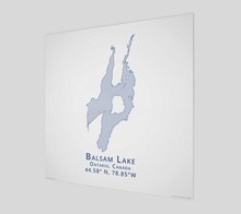Load image into Gallery viewer, Art Map of Balsam Lake