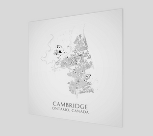 Art Map of Cambridge