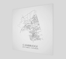 Load image into Gallery viewer, Art Map of Cambridge