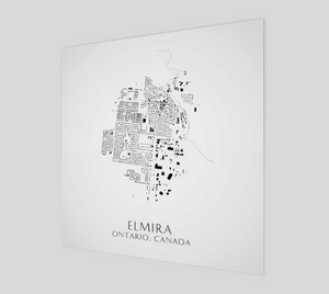 Art Map of Elmira