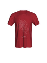Load image into Gallery viewer, Unisex Tee with Map of Guelph