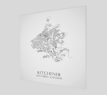 Load image into Gallery viewer, Art Map of Kitchener