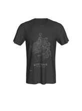 Load image into Gallery viewer, Classic T-shirt with Map of Kitchener