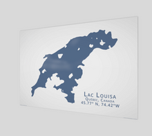 Load image into Gallery viewer, Art Map of Lac Louisa