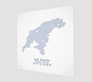 Art Map of Lac Louisa