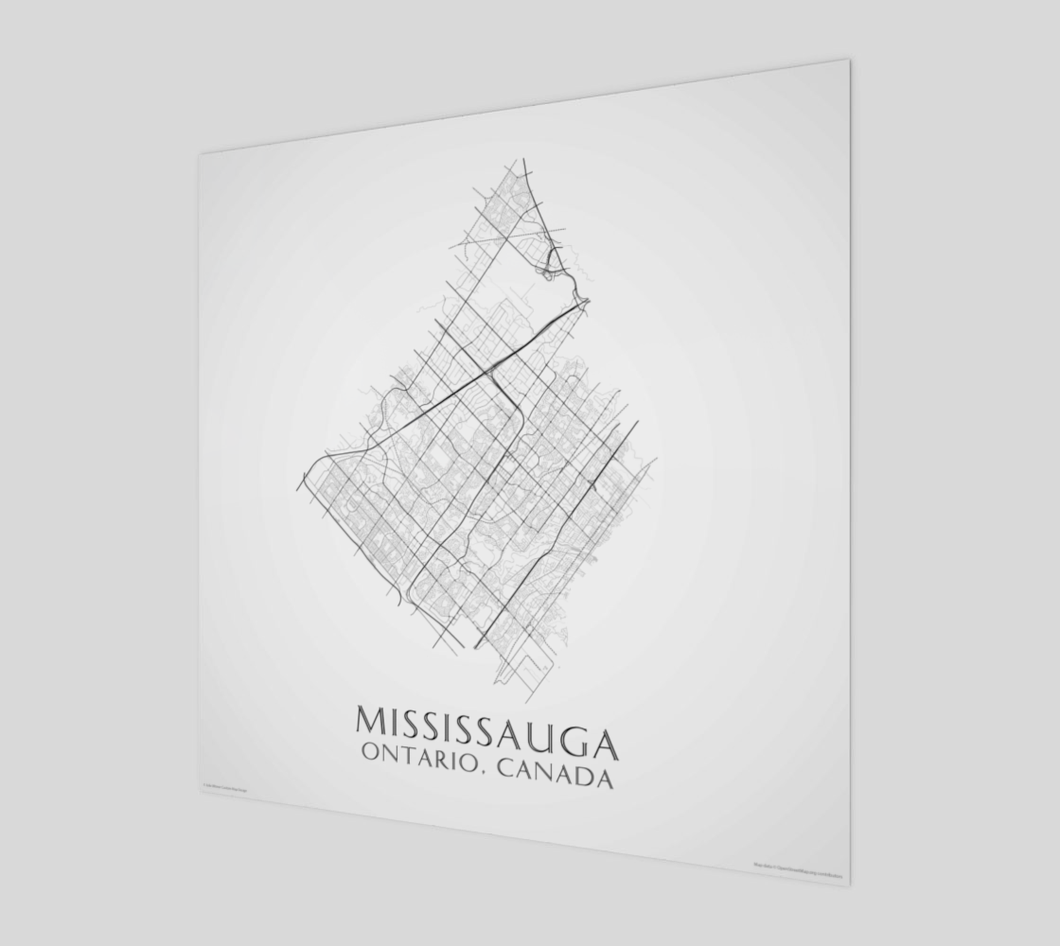 Art Map of Mississauga