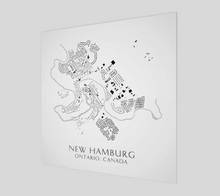Load image into Gallery viewer, Art Map of New Hamburg