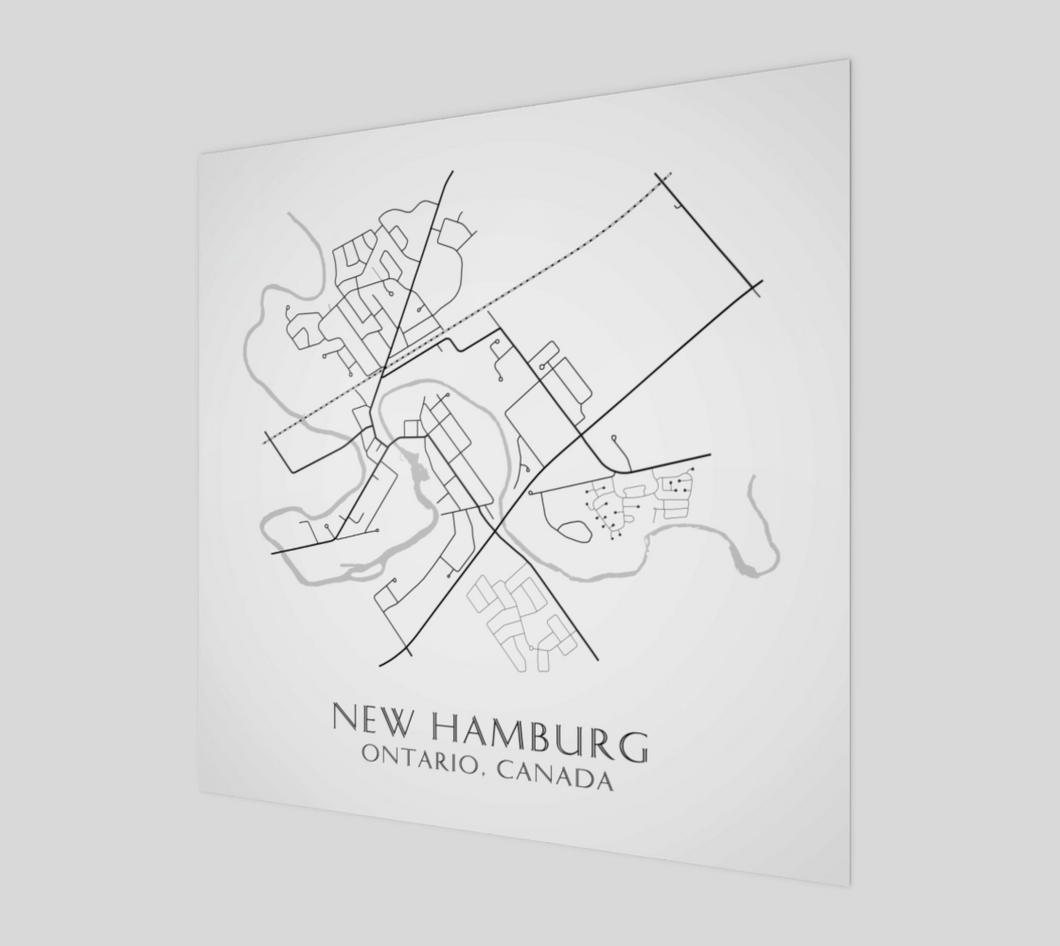 Art Map of New Hamburg