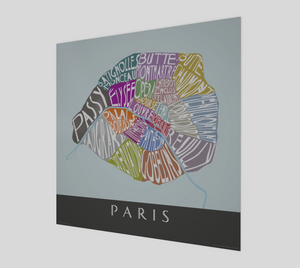 Art Map of Paris
