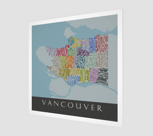Load image into Gallery viewer, Art Map of Vancouver