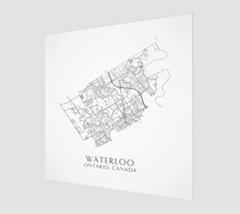 Load image into Gallery viewer, Art Map of Waterloo