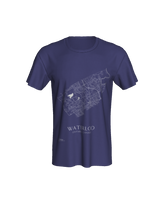 Load image into Gallery viewer, Unisex Tee with Map of Waterloo