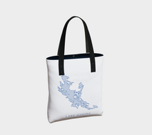 Load image into Gallery viewer, Tote Bag with Art Map of Lake Joseph, Muskoka