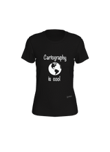 Load image into Gallery viewer, Fitted T-shirt - Cartography is Cool