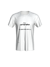 "Load image into Gallery viewer, Unisex Tee - ""I'm a Cartographer"""