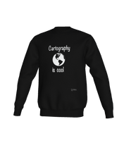 Load image into Gallery viewer, Cartography is Cool - Crewneck Sweatshirt
