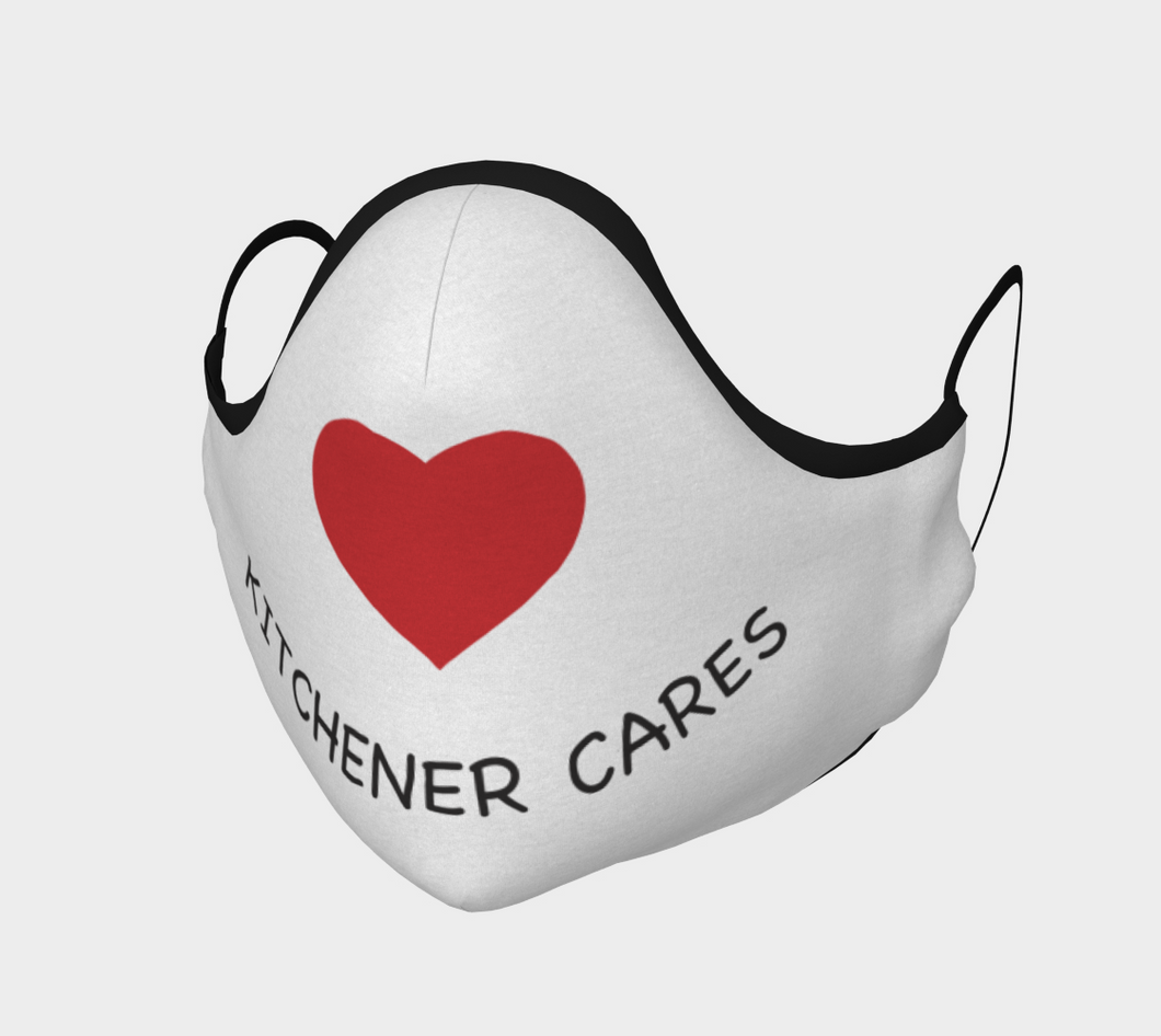 Kitchener Cares Face Mask