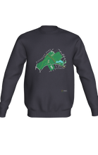 Load image into Gallery viewer, Crewneck Sweatshirt with Map of Waterloo Park