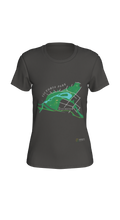 Load image into Gallery viewer, Fitted T-shirt with Map of Victoria Park in Kitchener