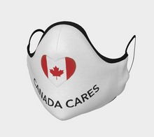 Load image into Gallery viewer, Canada Cares Face Mask