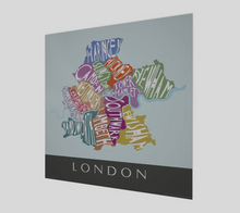 Load image into Gallery viewer, Art Map of London