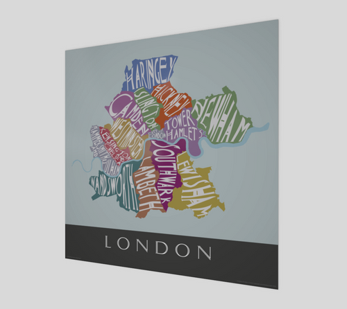 Art Map of London