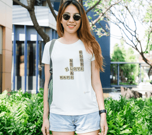 Fitted T-shirts - Map Crosswords