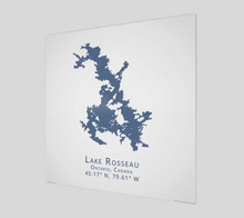 Load image into Gallery viewer, Art Map of Lake Rosseau