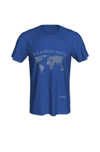 Load image into Gallery viewer, Classic T-shirt - It's a Blues World