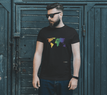 Load image into Gallery viewer, Classic T-shirt - Rainbow World Map
