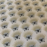 Glitter Critters QUILLS in White - a Mad Seamstress