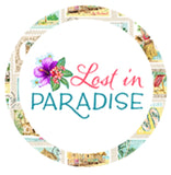 Lost in Paradise TROPICAL BLISS in white - a Mad Seamstress