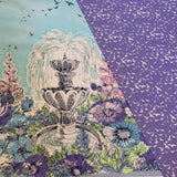 Weekend Getaway FREE BIRD in lavender coordinating fabric - a Mad Seamstress
