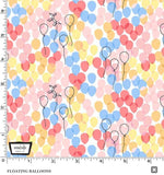 Celebrate FLOATING BALLOONS in blossom coordinating fabric - a Mad Seamstress