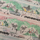 Weekend Getaway SCENIC VIEW in blossom coordinating fabric - a Mad Seamstress