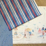 AT THE SEASHORE Double Border print - a Mad Seamstress
