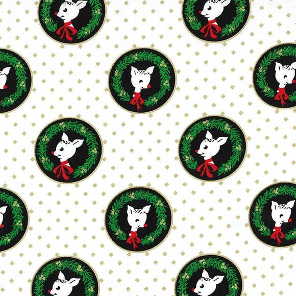 Hello my Deer! FAWN LAUREATES coordinating fabric - a Mad Seamstress