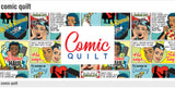 Comic Quilt - a Mad Seamstress