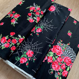 Charming SO FANCY in black SINGLE border print - a Mad Seamstress