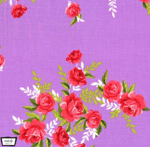 Charming SCARLET in Lavender - a Mad Seamstress
