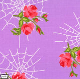 Charming Kiss of the Spiderwoman Lavender - a Mad Seamstress