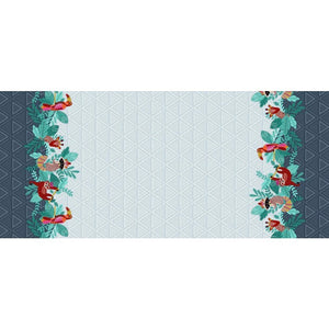 LIVING IN THE WILD Double Border print - a Mad Seamstress